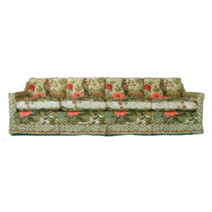 Pheasant Embroidered Couch