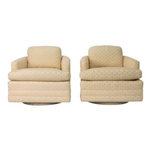 Baker Swivel Chairs