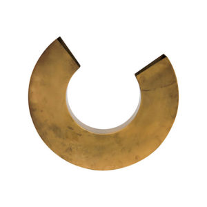Brass U Shaped Lamp