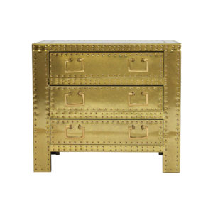 Sarreid gold dresser chest
